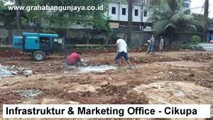 Proyek Pondasi Bangunan Marketing Office Industrial Park Cikupa