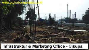 Proyek Pondasi Tiang Pancang & Pile Cap Bangunan Marketing Office Industrial Park Cikupa